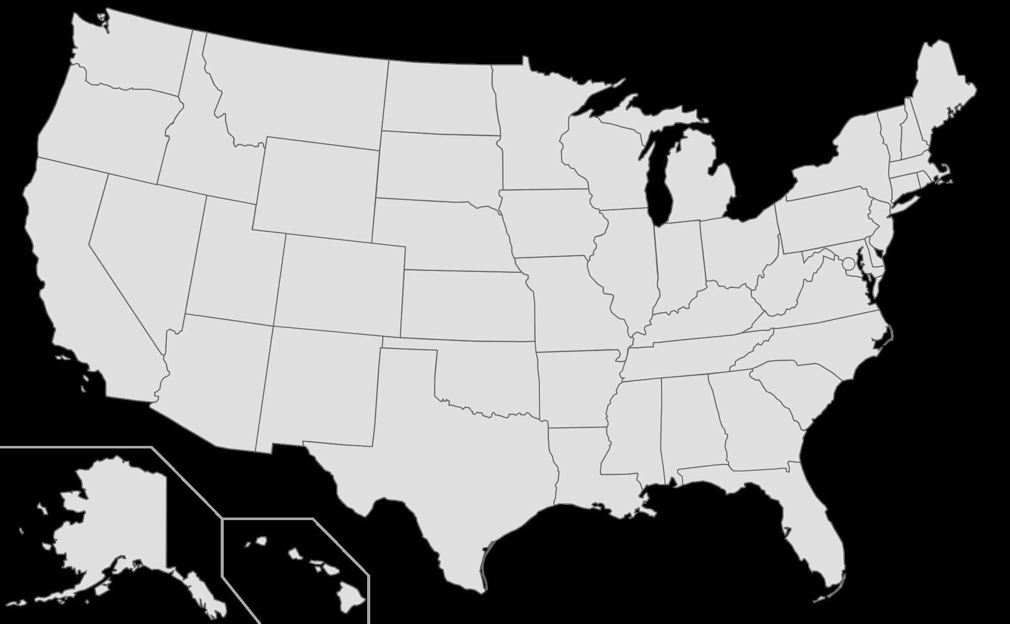 US Map Of HBCUs BLACK CENTRAL - Transparent us map