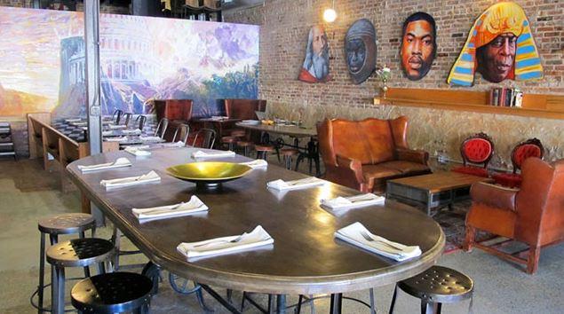 black restaurant